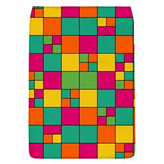 Abstract Background Abstract Removable Flap Cover (s)