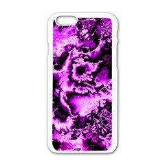 Winter Fractal 1 Apple Iphone 6/6s White Enamel Case by MoreColorsinLife