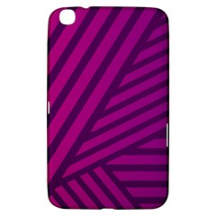 Pattern Lines Stripes Texture Samsung Galaxy Tab 3 (8 ) T3100 Hardshell Case