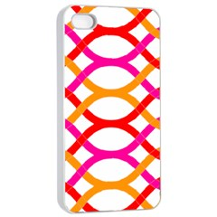 Art Background Abstract Apple Iphone 4/4s Seamless Case (white)