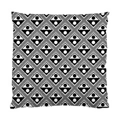 Background Triangle Circle Standard Cushion Case (one Side)