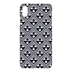 Background Triangle Circle Apple Iphone  Xs Max Hardshell Case by Wegoenart