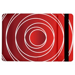 Background Circles Red Ipad Air 2 Flip