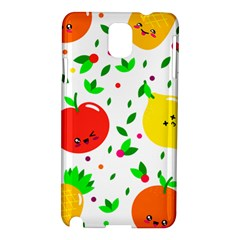 Pattern Fruit Fruits Orange Green Samsung Galaxy Note 3 N9005 Hardshell Case