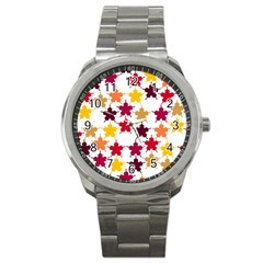 Background Abstract Art Sport Metal Watch by Wegoenart