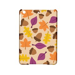 Acorn Autumn Background Boxes Fall Ipad Mini 2 Hardshell Cases