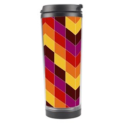 Geometric Pattern Triangle Travel Tumbler