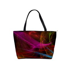 Background Abstract Colorful Light Classic Shoulder Handbag