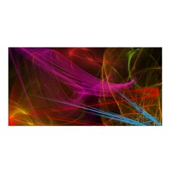 Background Abstract Colorful Light Satin Shawl