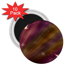Space Orbs Stars Abstract Sky 2 25  Magnets (10 Pack)