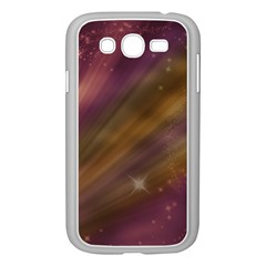 Space Orbs Stars Abstract Sky Samsung Galaxy Grand Duos I9082 Case (white)