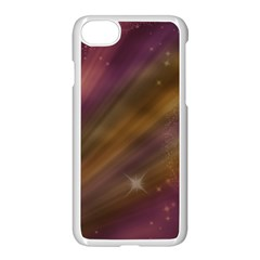 Space Orbs Stars Abstract Sky Apple Iphone 7 Seamless Case (white)