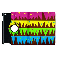 Illustration Abstract Graphic Apple Ipad 2 Flip 360 Case by Wegoenart