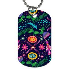 Pattern Nature Design Patterns Dog Tag (two Sides)