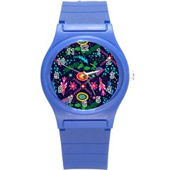 Pattern Nature Design Patterns Round Plastic Sport Watch (s)