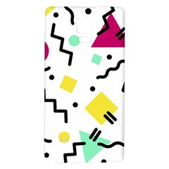 Background Abstract Art Samsung Note 4 Hardshell Back Case