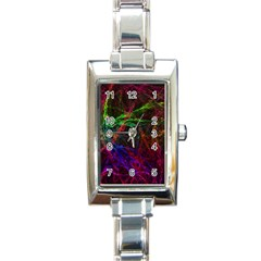 Background Abstract Cubes Square Rectangle Italian Charm Watch