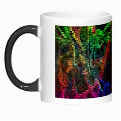 Background Abstract Cubes Square Morph Mugs