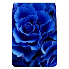 Blue Roses Flowers Plant Romance Removable Flap Cover (s)
