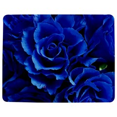 Blue Roses Flowers Plant Romance Jigsaw Puzzle Photo Stand (rectangular)