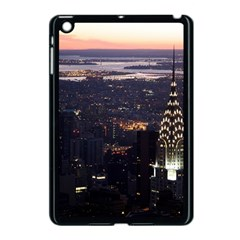 New York Manhattan Evening Dusk Apple Ipad Mini Case (black)