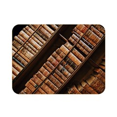 Books Bookshelf Classic Collection Double Sided Flano Blanket (mini)