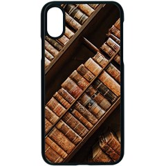 Books Bookshelf Classic Collection Apple Iphone Xs Seamless Case (black)