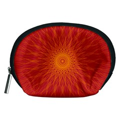 Background Rays Sun Accessory Pouch (medium)
