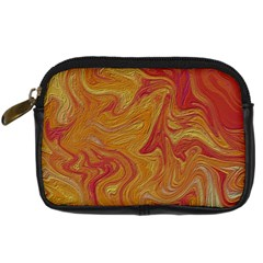 Texture Pattern Abstract Art Digital Camera Leather Case