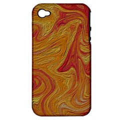 Texture Pattern Abstract Art Apple Iphone 4/4s Hardshell Case (pc+silicone)