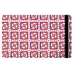 Background Abstract Square Apple Ipad 3/4 Flip Case by Wegoenart
