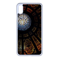 Art Ceiling Dome Pattern Apple Iphone Xs Max Seamless Case (white)