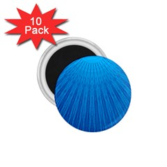 Blue Rays Background Image 1 75  Magnets (10 Pack)  by Wegoenart