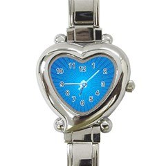 Background Rays Background Image Heart Italian Charm Watch