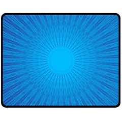 Background Rays Background Image Double Sided Fleece Blanket (medium)