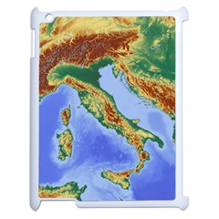 Italy Alpine Alpine Region Map Apple Ipad 2 Case (white)