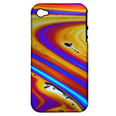 Soap Bubble Color Colorful Apple Iphone 4/4s Hardshell Case (pc+silicone)