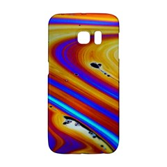 Soap Bubble Color Colorful Samsung Galaxy S6 Edge Hardshell Case
