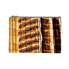 Abstract Architecture Background Cosmetic Bag (large)