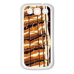 Abstract Architecture Background Samsung Galaxy S3 Back Case (white)