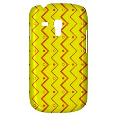 Yellow Background Abstract Samsung Galaxy S3 Mini I8190 Hardshell Case