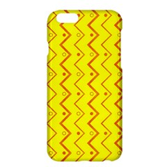 Yellow Background Abstract Apple Iphone 6 Plus/6s Plus Hardshell Case