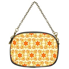 Background Floral Forms Flower Chain Purse (one Side) by Wegoenart