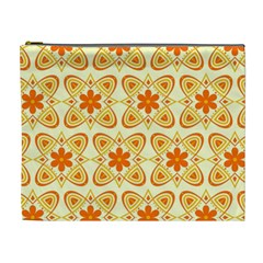Background Floral Forms Flower Cosmetic Bag (xl)