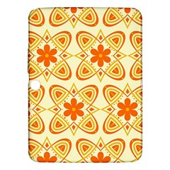 Background Floral Forms Flower Samsung Galaxy Tab 3 (10 1 ) P5200 Hardshell Case