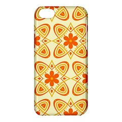 Background Floral Forms Flower Apple Iphone 5c Hardshell Case