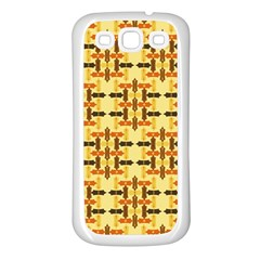 Abstract Background Vintage Samsung Galaxy S3 Back Case (white)