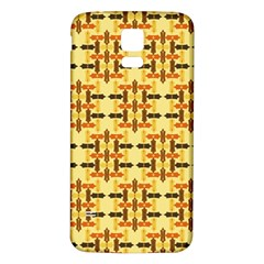 Abstract Background Vintage Samsung Galaxy S5 Back Case (white)