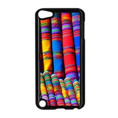 Substances Colorful Towels Scarf Apple Ipod Touch 5 Case (black)
