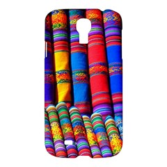 Substances Colorful Towels Scarf Samsung Galaxy S4 I9500/i9505 Hardshell Case